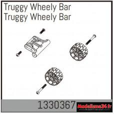 Absima Truggy Wheely Bar : 1330367