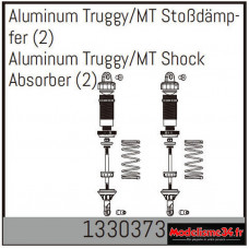Absima Amortisseur Truggy/MT en aluminium (2) : 1330373