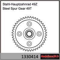 Absima Engrenage droit en acier métallique 49T : 1330414