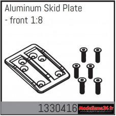 Absima Plaque de protection en aluminium - avant 1/8 : 1330416