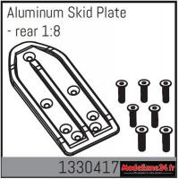 Absima Plaque de protection en aluminium - arrière 1/8 : 1330417