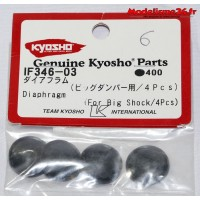 Kyosho membranes d'amortisseurs : IF346-03