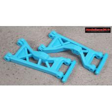 Scorpion XXL Triangles inférieurs avant ( 2 ) bleus : SX041BL