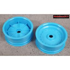 Scorpion XXL Jantes avant bleues ( 2 ) : SXH001B