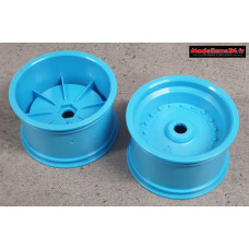Scorpion XXL Jantes arrière bleues ( 2 ) : SXH002B