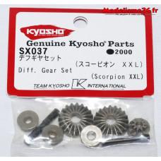Kyosho pignons de differentiel Scorpion XXL : SX037