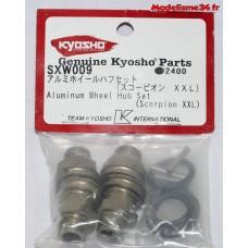 Kyosho adaptateurs de roues option Scorpion XXL : SXW009