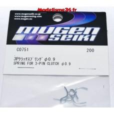 Mugen Ressorts embrayage 0.9mm :  C0751