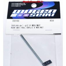 Mugen Barre-anti-roulis arrière 2.8mm : E0169