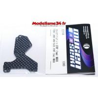 Mugen Avant bras Inférieur carbone 1mm : E2154