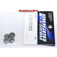 Mugen Set d'Engrenages différentiel 10Dts HTD : E2238