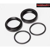 Mugen Molette de réglage de ressort amortisseur 16mm MBX7/MBX8 (2) : E2523