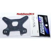 Mugen Support d'Amortisseurs Arrière Carbone 4mm : E2566