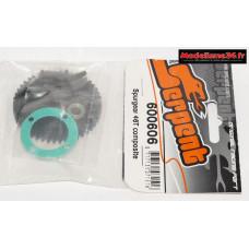 Serpent couronne 46 dents composite : SER600606