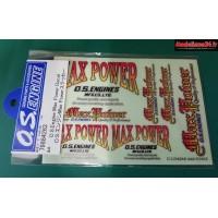 Autocollants OS MAX : S08679884263