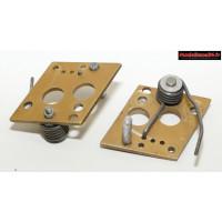 Buxy 06 Platines de suspension avant avec ressorts ( 2 )