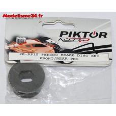 Piktor 2 disques de frein