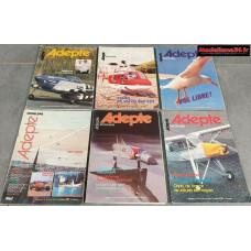 Lot de 6 revues de 1979 : 7902