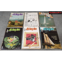 Lot de 6 revues de 1980 : 8001
