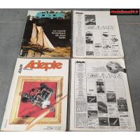 Lot de 4 revues de 1980 : 8002