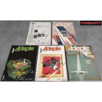 Lot de 5 revues de 1980 : 8003