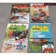 Lot de 4 revues de 1982 : 8205