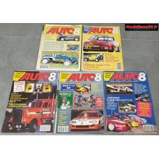 Lot de 5 revues de 1993 : 9301