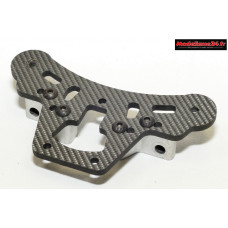 Thunder Tiger EB4 S3 platine sauve servo carbone avec fixations triangles 04