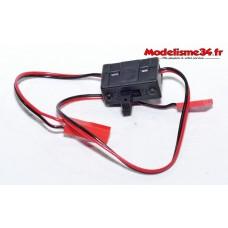 Interrupteur prises femelle BEC : m441