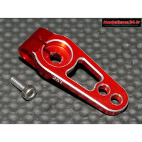 Palonnier servo 25 dents alu rouge 19mm - m414