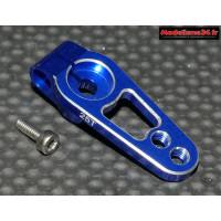 Palonnier servo 25 dents alu bleu 19mm - m415