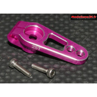 Palonnier servo 25 dents alu violet 19mm - m417