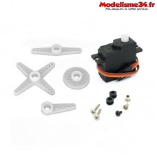 Servo de direction option pour CR4/PR4/CR6 - FTK-MT1802007