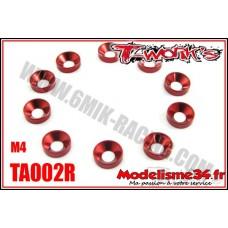 T-Work's Rondelles cuvettes M4 rouge (10) - TA002R
