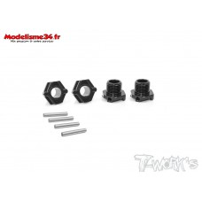 T-Work's Hexagones de roues light ( 4 ) MP10 : TO-245-K