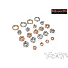 Kit complet de roulements étanches pour MBX8 (24pcs) : TBSS-MBX8