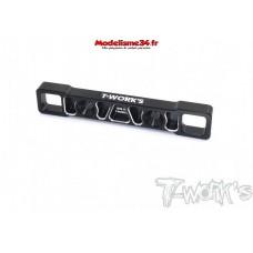 T-Work's Cale inférieur aluminium Arrière (D) MP10 : TO-272-R