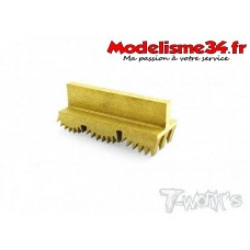 """T-work's Outil pour tour à pneus mousse traités """"nitride de titane"""" : TT033"""