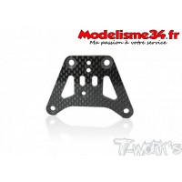 T-Work's Platine de sauve servo carbone MP10  : TO-213MP10