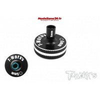 T-Work's Tournevis court 5mm Aluminium : TT-040