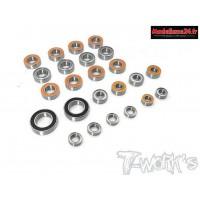 Kit complet de roulements étanches pour HB D819/RS  (24pcs) : TBSS-D819