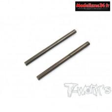 T-Work's Axes de triangles inférieurs arrière traités pour MP10 (2pcs) - TO-262MP10-R