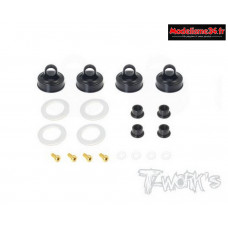 T-Work's Bouchons d'amortisseurs Type Emulsion pour Kyosho : TO273K