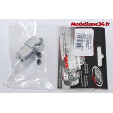 FG Carre roue alu 17mm/M6 (2p) : 06107/02