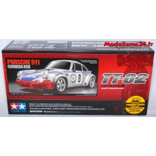 Tamiya Porsche 911 Carrera RSR TT02 : 58571