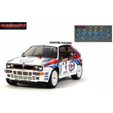 Tamiya Lancia delta integrale TT02 + Kit roulements 16 pièces : 58570 + m123