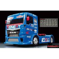 Tamiya MAN TGS Reinert Racing TT01E + kit Roulements 20 pièces : 58642 + m122