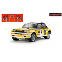 Tamiya Renault 5 Turbo Rally M05Ra + Kit roulements 18 pièces : 47435 + m121