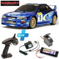 Tamiya Combo Subaru Impreza (Radio+Servo+Accu+Chargeur)