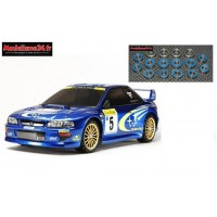 Tamiya  Subaru Impreza TT02 + Kit roulements 16 pièces : 58631+ m123
